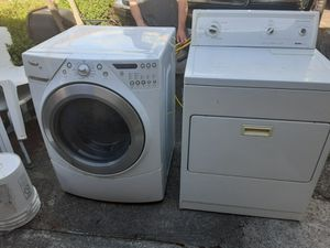Whirlpool washer, Kenmore dryer for Sale in Tacoma, WA
