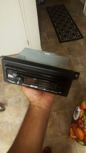 Jvc car stereo system w/aux jack for Sale in Oakland, CA