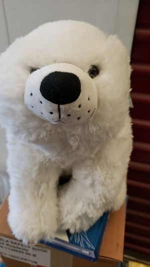 Fluffy Stuffed Polar Bear for Sale in Union City, CA