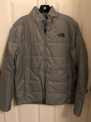 Brand new Men's size Medium North Face Water Resistant jacket. Cost $200 in stores but I'm selling for $115 (Grey) for Sale in Hayward, CA