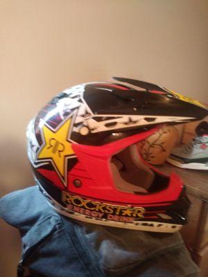 Rockstar energy dirt bike helmet for Sale in Bridgeville, PA