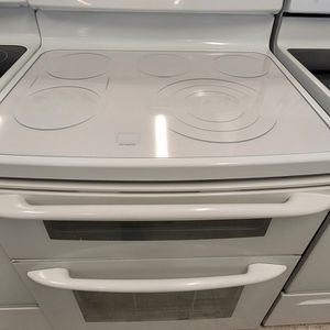 Ge Double Oven Electric Range Used In Good Condition With 90day's Warranty for Sale in Washington, DC