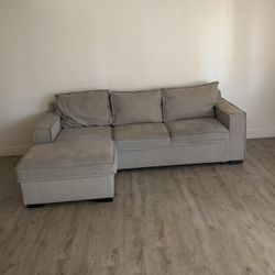 Grey Sectional Family Bed Couch Storage for Sale in La Puente,  CA