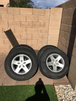 Jeep wheels 17'' for Sale in Payson, AZ
