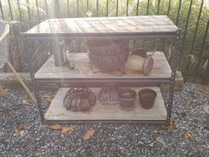 Planting station /work bench for Sale in Woodstock, GA