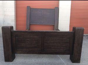 Queen sturdy bed frame 250 for Sale in Marietta, GA
