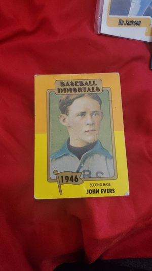 John Evers baseball card for Sale in Ceres, CA