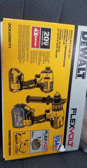 Dewalt flexvolt drill set for Sale in Sherman, TX