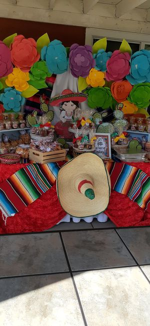 Fiesta party decorations for Sale in Riverside, CA
