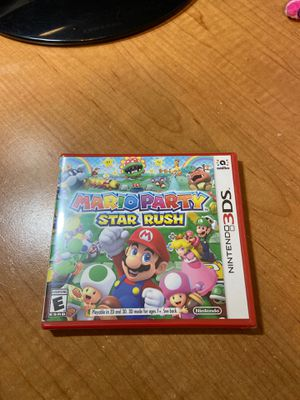 Mario Party Star Rush - Nintendo 3DS Brand New Sealed for Sale in Elk Grove, CA