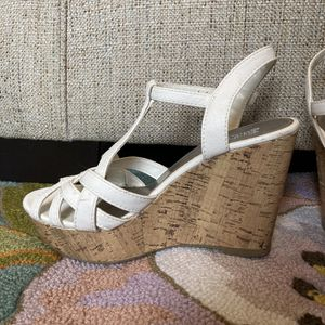 White Wedge Shoes for Sale in Columbia, TN