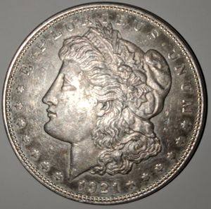 1921 Silver Morgan Dollar (Beautiful Specimen) for Sale in Irvine, CA