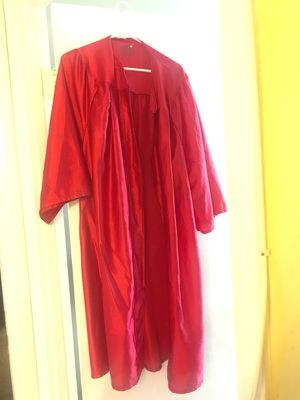 Red Graduation Gown for Sale in Annandale, VA