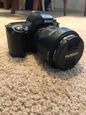 Nikon N65 35mm Camera, Tamron Lens and Bag for Sale in Kansas City, MO