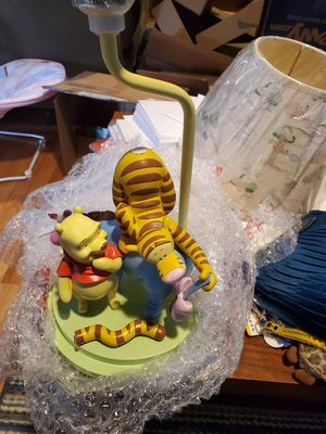 Winnie the Pooh lamp for Sale in Ellicott City, MD