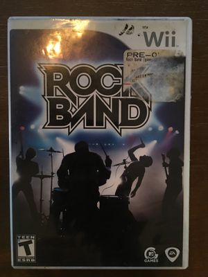 Nintendo Wii rockband for Sale in Visalia, CA