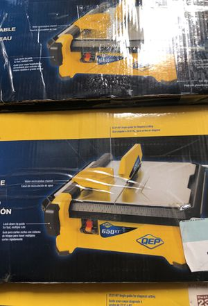 Qep 650xt tile wet saw with extension table for Sale in Avondale, AZ