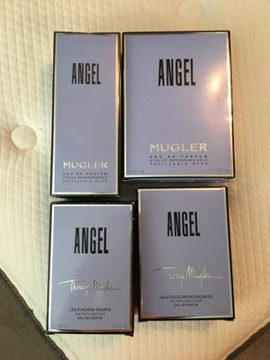 Price reduced Angel fragrances different sizes. for Sale in Taylorsville, UT
