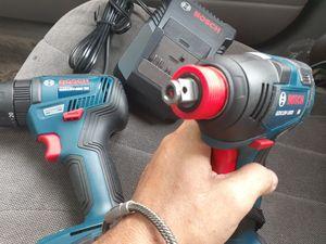 Bosch 3 drills in 1 kit for Sale in TEMPLE TERR, FL