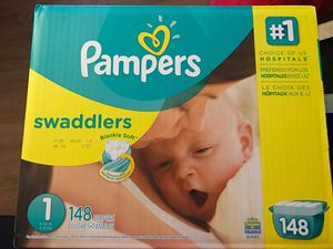 Pampers - Size 1 – 148 count for Sale in Honolulu, HI