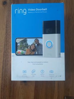 Ring video Doorbell for Sale in Boise,  ID