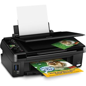 NEW CONDITION Black Epson Stylus NX420 All-In-One Wi-Fi/Wireless Printer for Sale in Monterey Park, CA