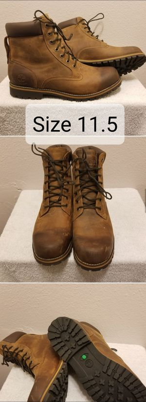 Timberland Mens Rugged Wp Brown Hiking Boots Size 11.5 (074134) for Sale in Pomona, CA