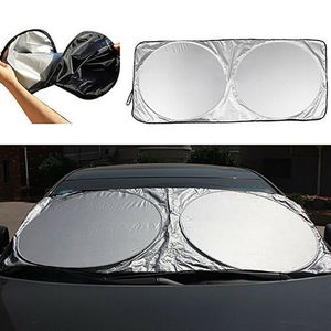 Auto Car Front Rear Window Foldable Visor Sun Shade Windshield Cover Block New (frontrearcover-USA) for Sale in Riverside, CA