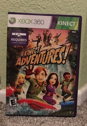 Kinect Adventures xbox 360 for Sale in Aliso Viejo, CA