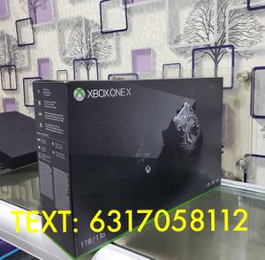 XBOX ONE X for Sale in Coldwater, MI