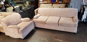 Sofa + chair for Sale in Norcross, GA