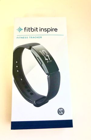 Fitbit inspire new in its unopened box. Easy to use touchscreen, smarttrack automatic exercise tracking, basic sleep tracking for Sale in Miami, FL