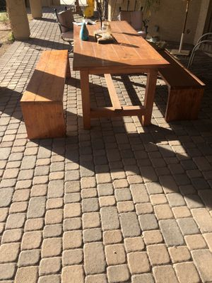 Patio table/ furniture/ benches for Sale in Phoenix, AZ