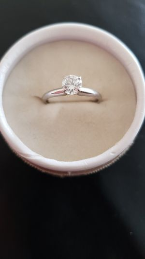 5.8 ct Solitaire White Gold Jared Diamond ring for Sale in Springfield, VA