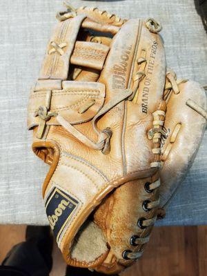 "11.5"" Wilson kids baseball glove broken in for Sale in Norwalk, CA"