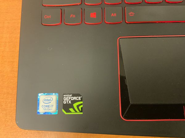 Lenovo Legion Y520 Gaming Laptop - Core i7-7700HQ, 16GB RAM, 2TB HDD + 256GB SSD