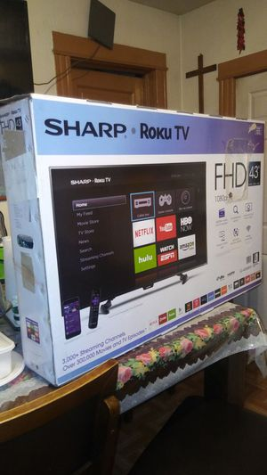 "43""Sharp LED ROKU TV FHD for Sale in Chicago, IL"