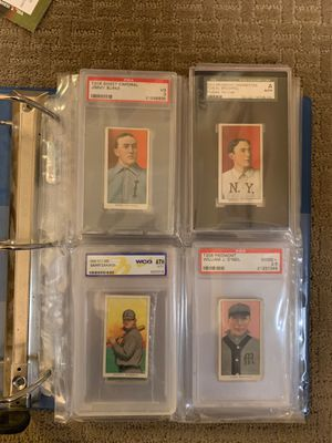 Lot of 41 Authentic T206 cards, many grades. See Photos and Description for Sale in Weymouth, MA
