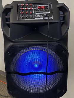 "15""WOOFER-5800 WATTS/Bluetooth-Fm radio (DELIVERY SERVICE AVAILABLE) ( MICROPHONE & CONTROL FOR KARAOKE ! ) (MICRÓFONO Y CONTROL INCLUIDO) ( for Sale in Irwindale,  CA"