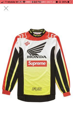 Supreme Honda fox racing jersey for Sale in Chino Hills, CA