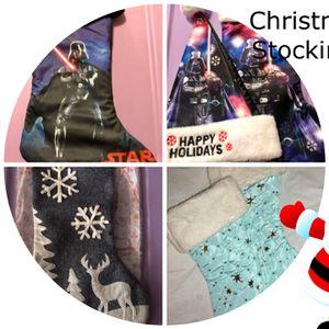 Christmas Stockings $6 each for Sale in Visalia, CA