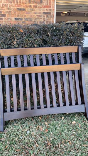 Convertible crib to youth to full size bed frames and slats for Sale in Longview, TX