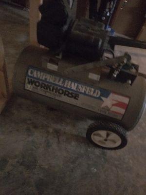 Campbell hausfeld 20 gal air compressor for Sale in Burlington, NJ