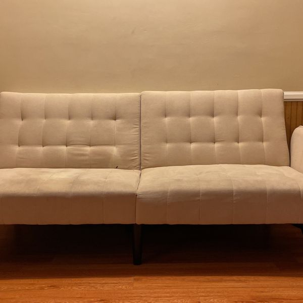 White Folding Couch
