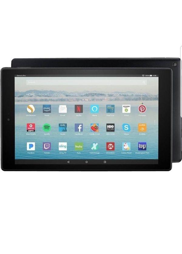 Tablet Amazon 10 hd with Alexa voice, brand new