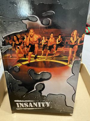 Insanity Workout DVDs for Sale in Galt, CA