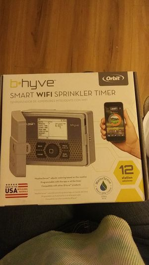 B-Hyve Smart Wi-Fi sprinkler timer for Sale in City of Industry, CA