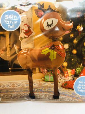Anagram airwalker reindeer Christmas balloon for Sale in Miami, FL