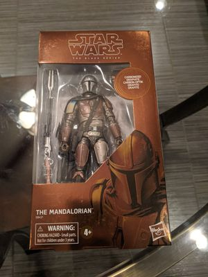 Star Wars The Black Series Carbonized Collection The Mandalorian Toy Figure (Target Exclusive) for Sale in Chandler, AZ