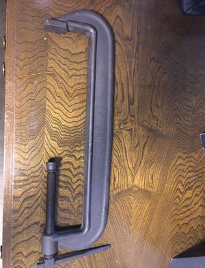 """Armstrong Welders C-Clamp 78-118 excellent condition Almost 2 feet long opening is 18"""" for Sale in Tustin, CA"""